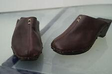 Marc O Polo Damen Clogs Sommer Schuhe Sandalen braun Leder trend Gr.39 TOP #9