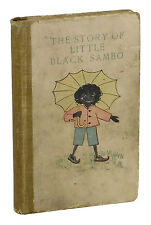 The Story of Little Black Sambo ~ HELEN BANNERMAN ~ First Edition 1st State 1900