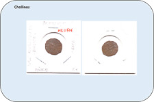 DINER FERRAN II AÑO N.D. ( rara , doble acuñacion en anverso )      ( MB11506 )