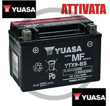 Batteria Yuasa YTX9-BS 12V 8Ah 135CCA  Yuasa YTX9-BS X MOTO ATTIVATA GIA' PRONTA