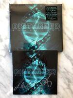 Disturbed EVOLUTION CD SIGNED! Autographed SEALED Deluxe Ed. w/Bonus Tracks RARE