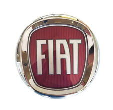 Original Emblem Badge FIAT VERCHROMT Ø 120mm 12cm  Ducato Scudo Fiorino