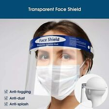 Face Shield Full Face Visor Protection Mask ppe Shield Clear Transparent Unisex