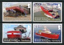 BAT Brit Antarctic Ter 2018 MNH RRS David Attenborough 4v Set Boats Ships Stamps