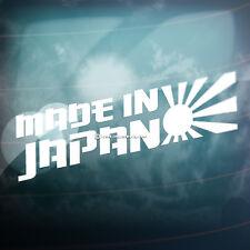 MADE IN JAPAN Sun Car,Bike,Window,Bumper JDM JAP VAG DRIFT Vinyl Decal Sticker
