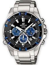 Casio EFR-534D-1A2VEF Mens Edifice Silver Steel Bracelet Watch