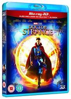 Marvel's Doctor Strange 3D [BR3D, Region Free, Cumberbatch, McAdams, Action] NEW