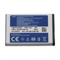 3.7 V Li-lon Li-ion OEM SAMSUNG Cell Phone Battery AB553446GZ 1000mAh Genuine