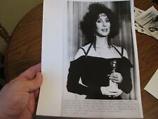Cher 1988 Best Actress Golden Globe Award Press Photo Picture