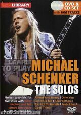 LICK LIBRARY MICHAEL SCHENKER The SOLOS UFO ARMED AND READY ROCK Song Guitar DVD