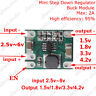 2A Mini DC-DC Buck Step Down Converter Regulator 2.5-6V to 1.5V 1.8V 3.3V 4.2V