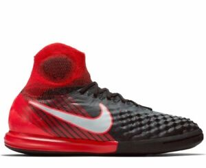 Nike Junior Magistax Proximo ll DF lC UK 4 843955-061 BLACK/RED Football