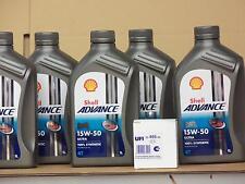 Shell Advance Ultra 4t 15w-50/UFI FILTRO OLIO DUCATI 750 GT DARMAH S SS prima BJ 91