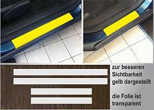 Lackschutzfolie transparent Einstiege Türen passgenau für Opel Astra H