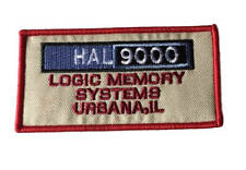 2001 A Space Odyssey HAL 9000 Logic Memory Systems Embroidered Iron On Patch