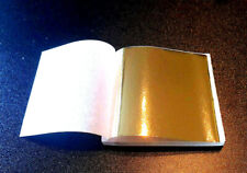 👍 100 Blatt Blattgold Kunsthandwerk Goldfolie Gold Handwerk 90x90mm