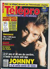 TELEPRO 2414 (8/6/2000) JOHNNY HALLYDAY CRISTIANA REALI KAREN CHERYL GAINSBOURG