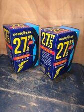 2 Goodyear 27.5 Inch Bicycle Tubes,Presta Valve,New.