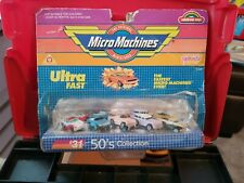 Galoob Micro Machines ultra fast 50's collection blister original box