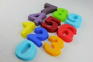Cake Numbers Large Full Set Silicone Mould Birthday Bakeware Melts Ice Chocolate