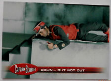 CAPTAIN SCARLET - Individual Trading Card #24, Down... But Not Out - Unstoppable