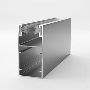 ALU Aluminium Führungsschiene Schiene Rolladen Rollladen 45/22 mm    6,90 €/m   