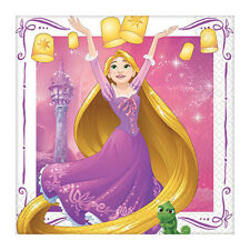 TANGLED Dream Big SMALL NAPKINS (16) ~ Birthday Party Supplies Cake Serviettes