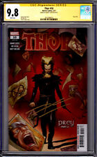 Marvel! Thor #10! CGC Signature Series 9.8! Signed by Donny Cates!