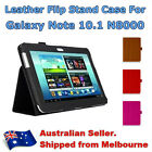 Flip PU Leather Stand Folio Cover Case For Samsung Galaxy Note 10 N8000 Tablet