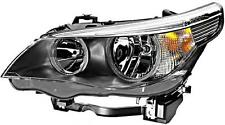 HELLA Halogen Headlight Left Fits BMW 5 Series E61 E60 Sedan Wagon 2003-2007