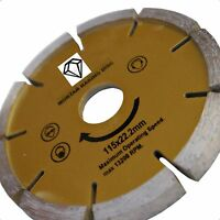 "Diamond Disc Mortar Raker  Pointing  4 1/2"" Angle Grinder"