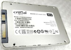 "480GB CRUCIAL BX200 2.5"" 7mm SSD Solid State Drive"