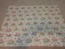 Vintage Rag Doll Fabric, Boy And Girl Doll, Pink And Green