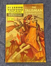 Classics Illustrated #111 THE TALISMAN Comic Book HRN 166 Sir Walter Scott