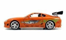 JADA 1995 Brian`s Toyota Supra Fast and & Furious 7 Orange 1:24
