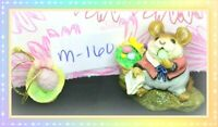 ❤️Wee Forest Folk M-160 Mousey's Easter Basket Mouse Eggs 1988 Figure❤️
