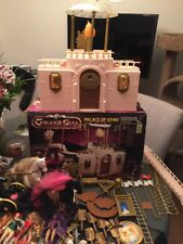 Galoob Golden Girl Palace of Gems,horses,and 10 Figure Lot