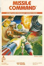 "Poster: Missile Command Manual Artwork, Atari 2600 - 24x36"" Premium Matte Paper"