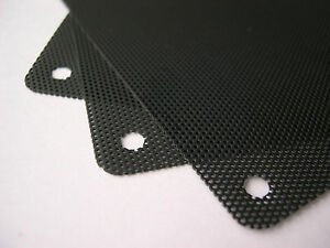 eXXtreme CPU 120mm Nylon Dust Filters - Black - 3 Pack