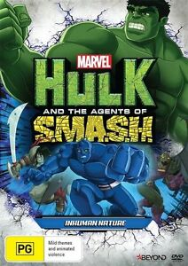 Hulk And The Agents Of SMASH - Inhuman Nature (DVD, 2016)