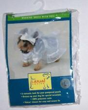 Casual Canine Wedding Dress and Veil Dog Pet Costume Size Large