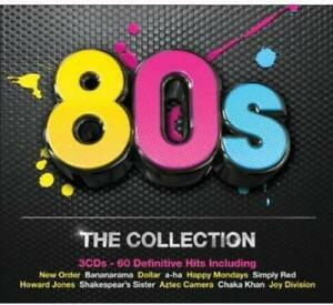 80S THE COLLECTION (2012) 60-track 3-CD NEW/SEALED New Order Happy Mondays