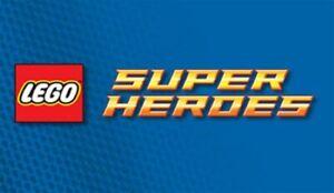 LARGE RANGE OF ORIGINAL LEGO SUPER HERO SET, FIGURES AND ACCESSORIES