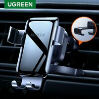 Ugreen Cell Phone Holder Car Gravity Air Vent Mount Auto-Clamping for iPhone 11