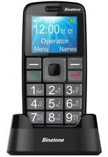 """New Binatone M312 Big Button GSM Mobile Phone 1.77"""" Screen With SOS Button"""