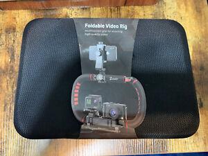 Zeadio Camera Smartphone Stabilizer, Foldable Handle Grip Handheld Video Rig..
