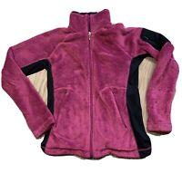 Women's COLUMBIA FULL ZIP FLEECE JACKET Size Medium??? (No Tag) Pink