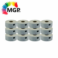 12 Refill Compatible for Brother DK11201 Address Label 29mm x 90mm QL570 QL700