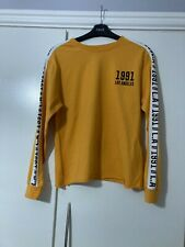 NEW LOOK - Ochre Long Sleeve Top (Size 10)  UNWANTED GIFT