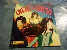 Album Figurine Panini OCCHI DI GATTO 1986 con 12 figurine Cartoni animati Manga